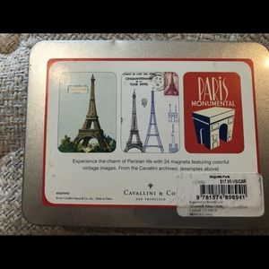 cavallini & co Other - Set of 24 Paris Themed Magnets - new, unopened
